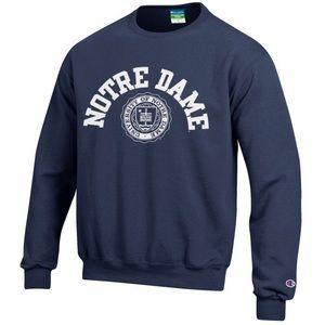 Notre Dame Crewneck Sweatshirt